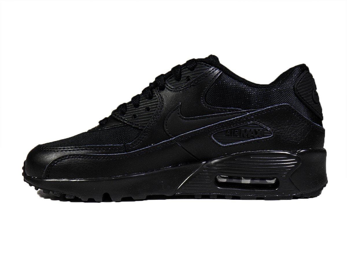 fb980b950c1aa fre pl Nike Air Max 90 Mesh GS Black Chaussures pour enfants