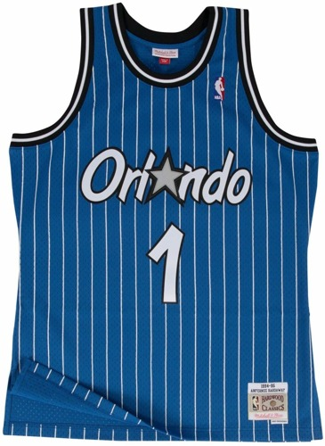 Mitchell & Ness Anfernee Hardaway 1994-95 NBA Hardwood Classics Swingman Orlando Magic Jersey