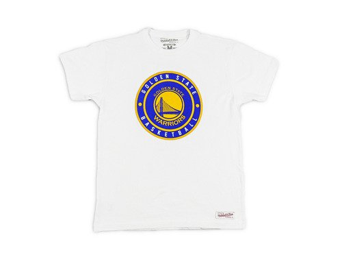 Mitchell & Ness NBA Golden State Warriors T-Shirt - MN-NBACPATCHTRAD-GOLWAR