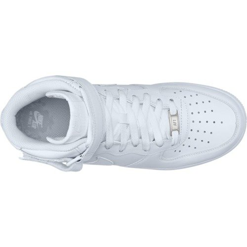 Nike Air Force 1 Mid All White Chaussures - 315123-111