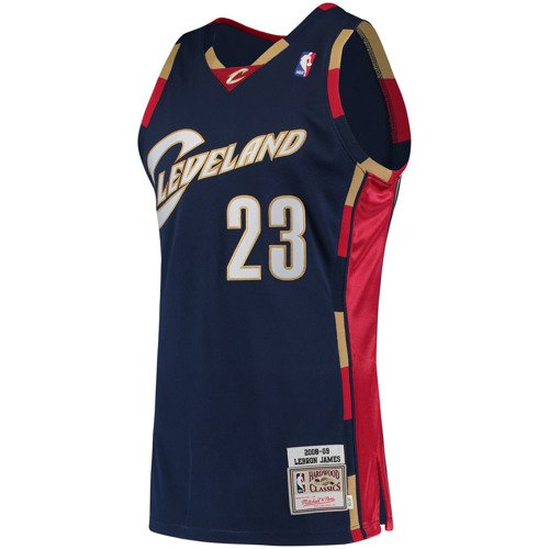 official photos 846ac bbdbe Mitchell & Ness LeBron James 2008-09 NBA Hardwood Classics Authentic  Cleveland Cavaliers Jersey
