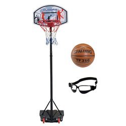 Basketball set Hudora All Stars + Spalding TF-250 + Dribble Specs