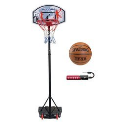 Basketball set Hudora All Stars + Spalding TF-50 + Jordan Pump