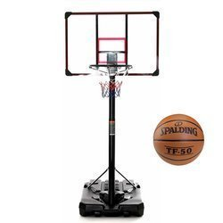 Ensemble de basket DELUX 305 cm + Spadling TF-50 Basketball