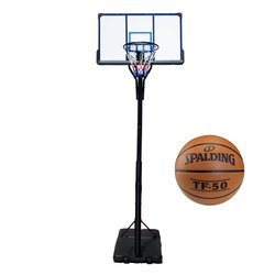 Ensemble de basket TOP 305 cm + Spalding Basketball TF-50