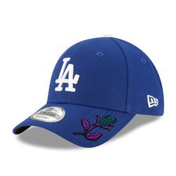 New Era 9FORTY MLB Los Angeles Dodgers Strapback Custom Rose - 10047531