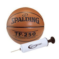Spalding Ballon de basket TF-250 Indoor/Outdoor