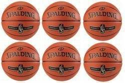 Spalding Platinum ZK Legacy Indoor Basketball x6