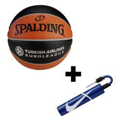 Spalding TF-1000 Legacy Euroleague Basketball + NIke pompe