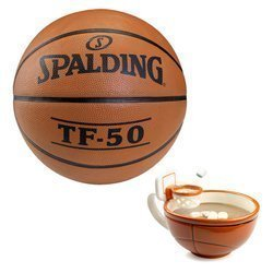 Spalding TF-50 Basketball + MAX'IS Creations Basketball The Mug With A Hoop
