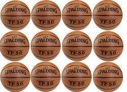 Spalding TF-50 Basketball x12