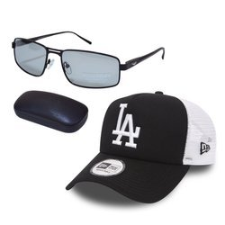 Sunglasses PolarZONE - FP358-1 + New Era MLB LA Dodgers Clean Cap