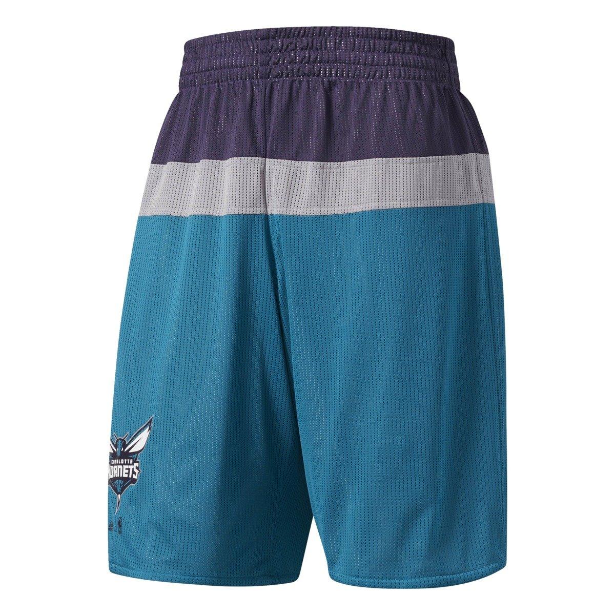 timeless design 8b9ce 34fde ... Adidas NBA Charlotte Hornets Short de basket - BR2242 ...
