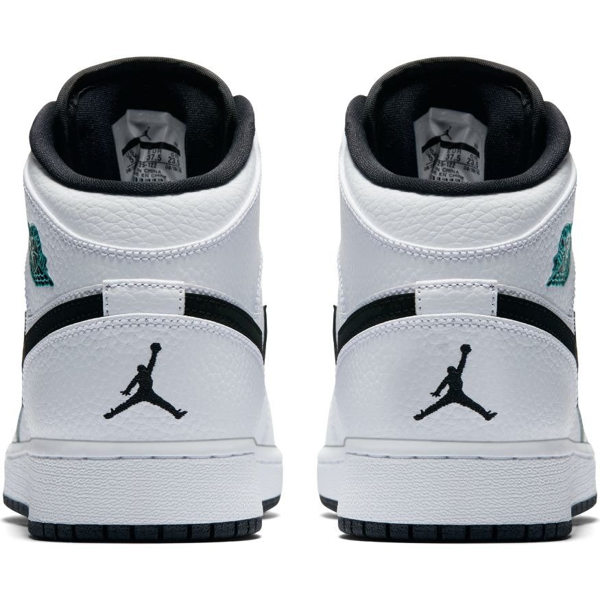 Air Jordan 1 Mid GS Hyper Jade chaussures - 554725-122 - Basketo.fr 1706e6a26607