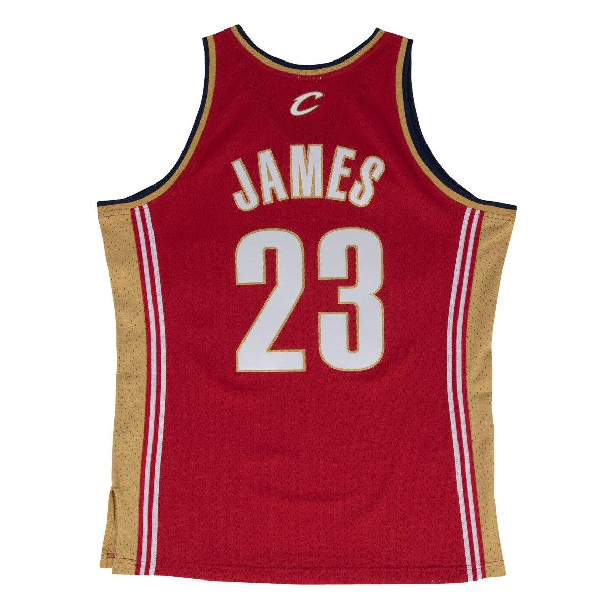 b8346d13757 Mitchell & Ness LeBron James 2003-04 NBA Swingman Cleveland Cavaliers Jersey  - Basketo.fr