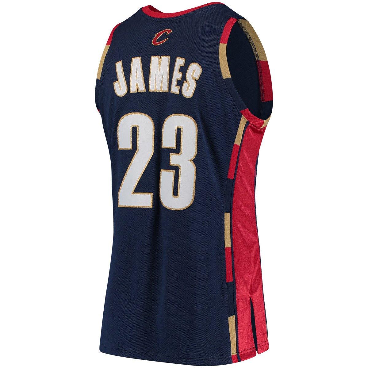 Mitchell   Ness LeBron James 2008-09 NBA Hardwood Classics Authentic  Cleveland Cavaliers Jersey 0b2d86514