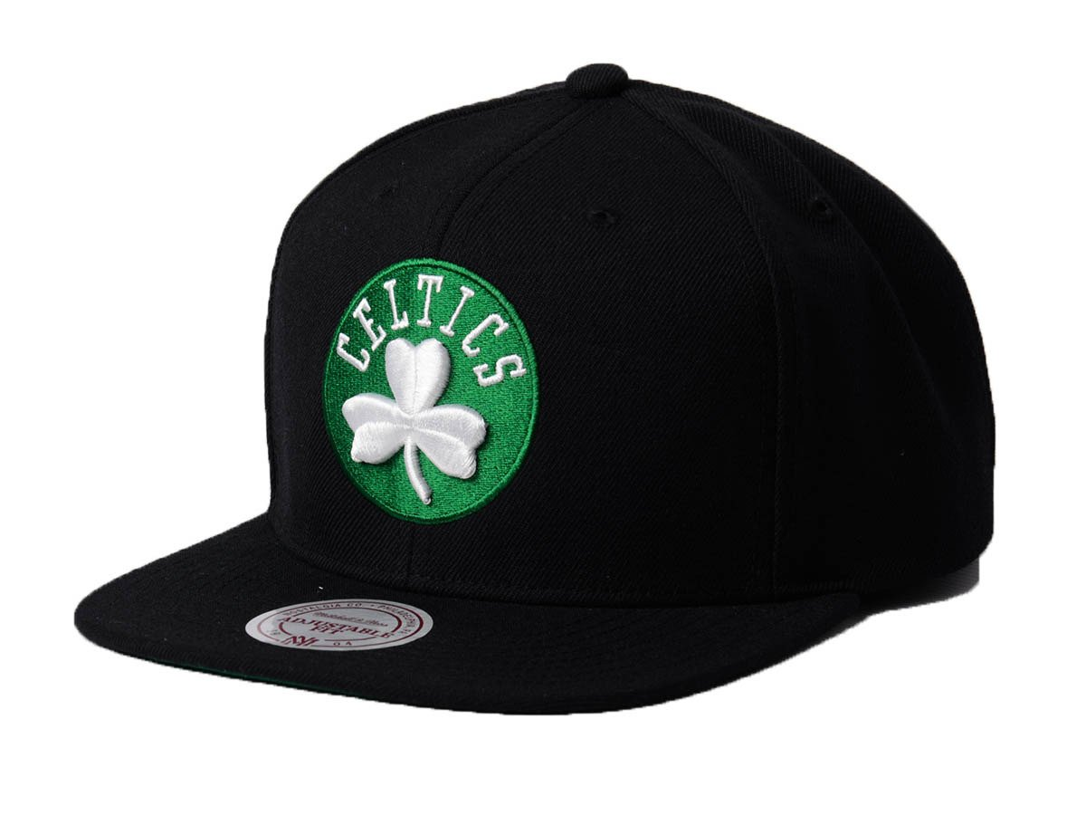 best service c1053 5f803 Mitchell   Ness NBA Boston Celtics Wool Solid Snapback