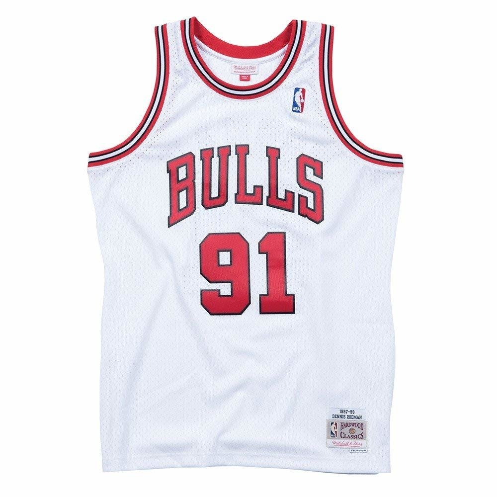 16a0b7366 Mitchell   Ness NBA Chicago Bulls Dennis Rodman Swingman Jersey - Basketo.fr