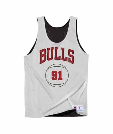 b5fa82ddd ... Mitchell   Ness NBA Dennis Rodman Chicago Bulls Reversible Tank top -  BA85AI ...