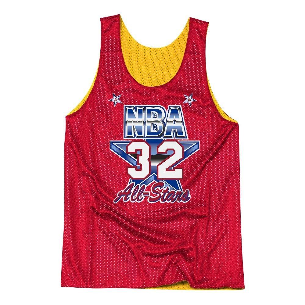3e6e92a91ef ... Tank; Mitchell & Ness NBA Los Angeles Lakers/All Star 1991 Magic Johnson  Reversible Mesh ...