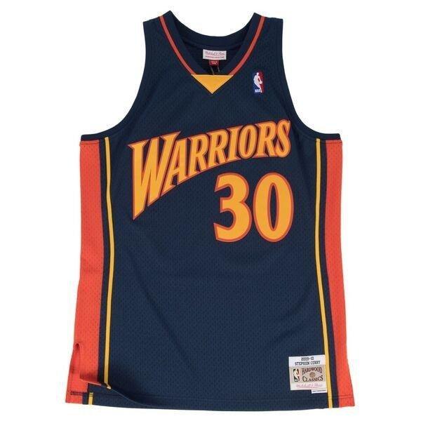 dac6943636f Mitchell & Ness Stephen Curry 2009-10 NBA Hardwood Classics Swingman Golden  State Warriors Jersey