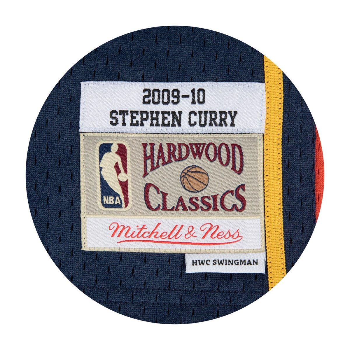 Mitchell   Ness Stephen Curry 2009-10 NBA Hardwood Classics Swingman Golden  State Warriors Jersey 910dcf76a