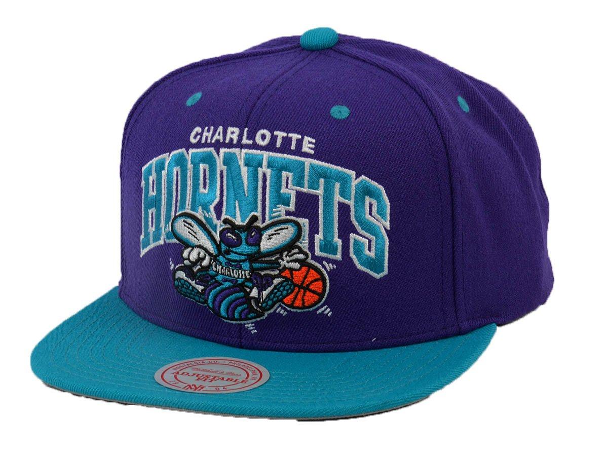 promo code f34fa 06cd3 Mitchell   Ness Team Logo Charlotte Hornets Snapback - EU1129-CHAHOR