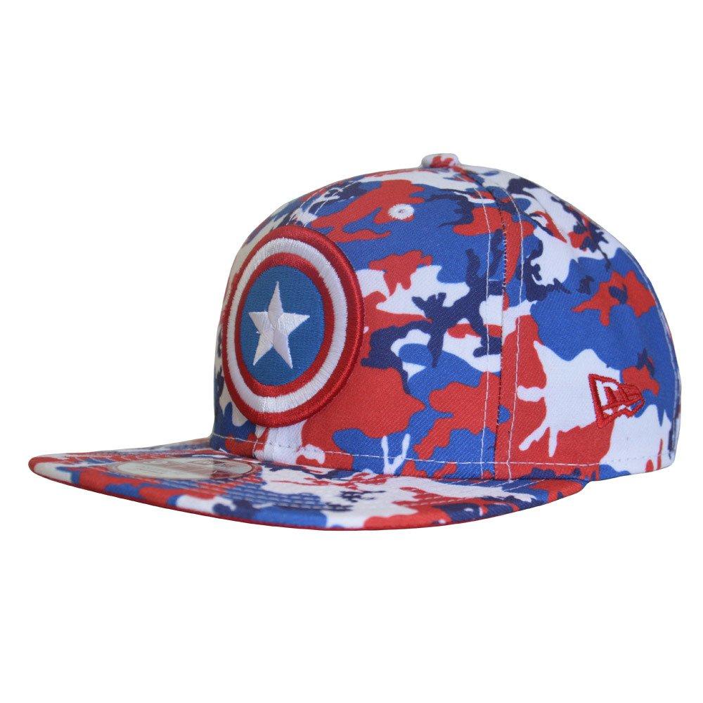 super qualité comparer les prix collection entière New Era 9FIFTY Marvel Captain America Snapback