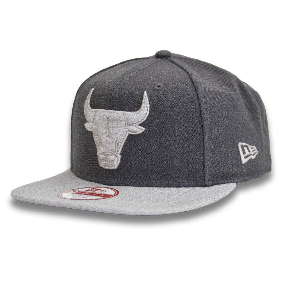 vraie qualité vente en magasin prix de liquidation New Era 9FIFTY NBA Chicago Bulls Heather Snapback Casquette - 11360557