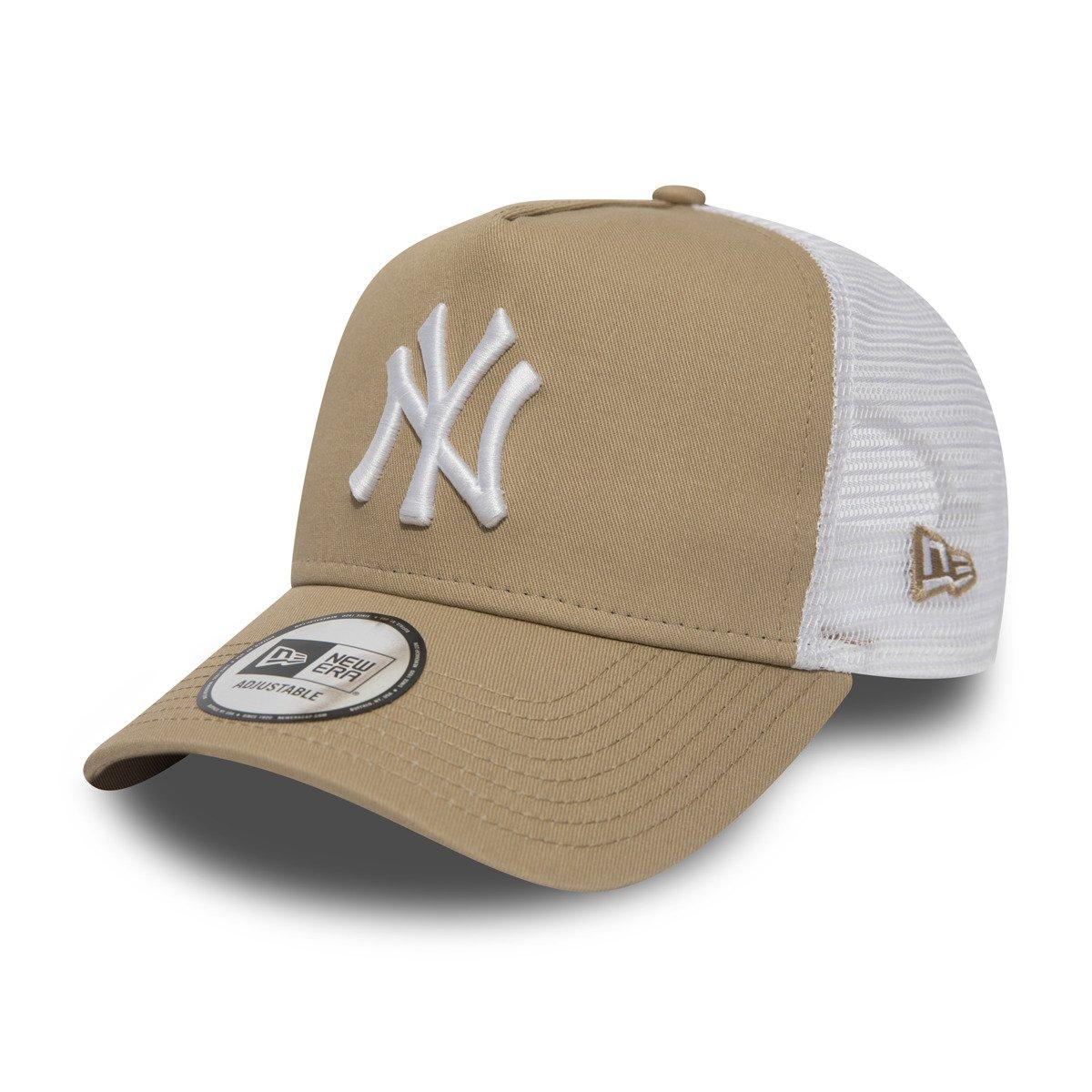 7ce140dba821 New Era A Frame MLB League Essential Trucker Cap Camel - 11871466 -  Basketo.fr