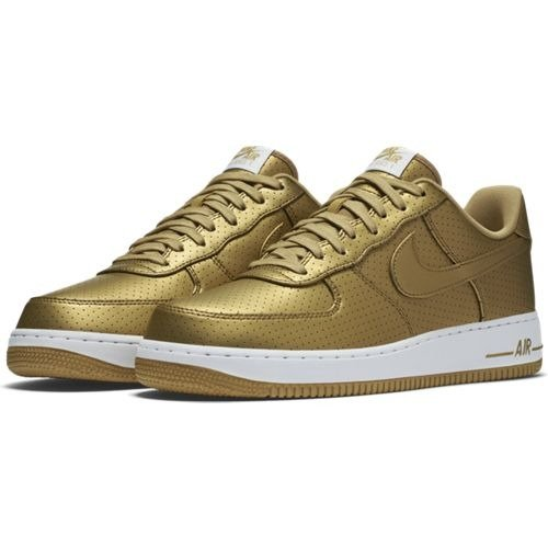 Force Lv8 700 '07 718152 Nike 1 Air Chaussures Metallic Gold b7Yfy6g