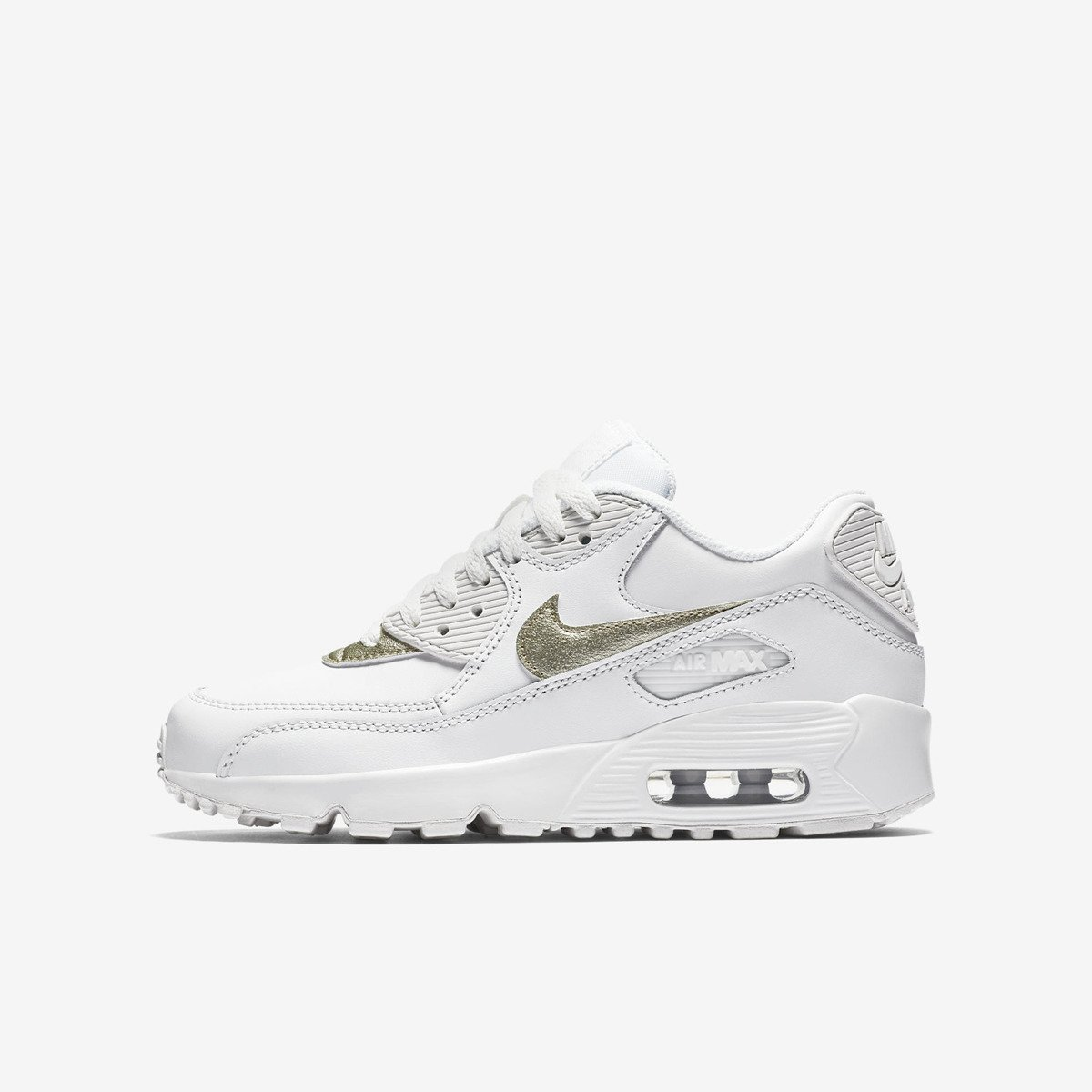 Nike Air Max 90 Leather GS Light Platinum Chaussures