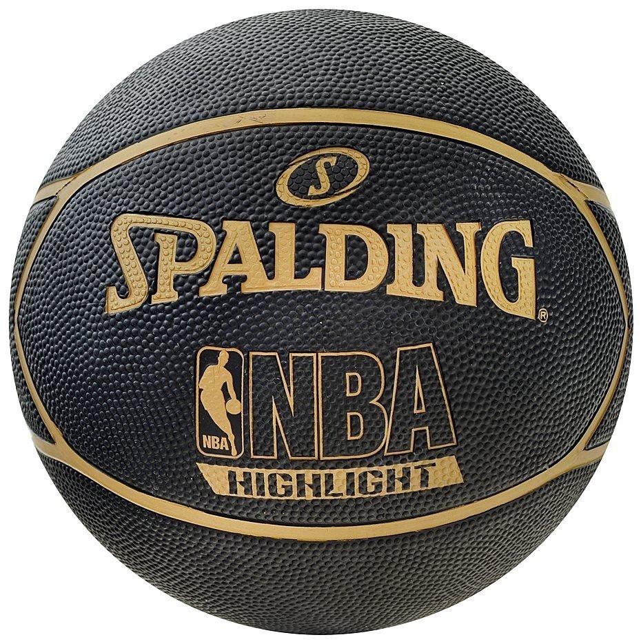 Spalding Nba Rebound Indoor Outdoor Ballon De Basket Noir