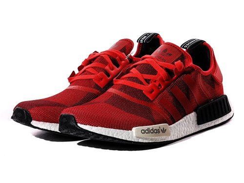 "Adidas NMD R1 ""Red Geometric Camo"" Chaussures - S79164"