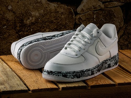 Air Force 1 Low Floral Pack Chaussures - 820266-100
