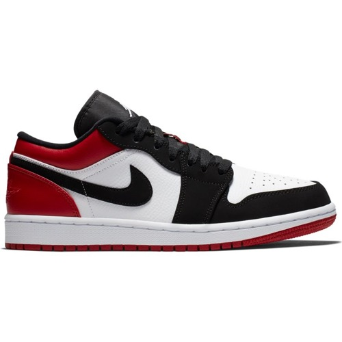 Air Jordan 1 Low Black Toe - 553558-116
