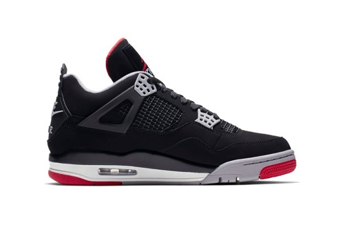Air Jordan 4 Retro Bred Chaussures - 308497-060 for Custom