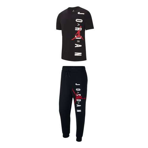 Air Jordan Jumpman Air Lightweight Pantalon + Air Jordan Jumpman Vertical T-shirt