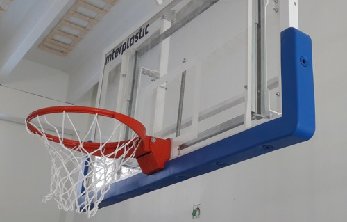 Cover of the bottom edge of the basketball board INTERPLASTIC
