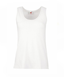 Fruit of the Loom Valueweight Vest Ladies Tank top - 613760 30