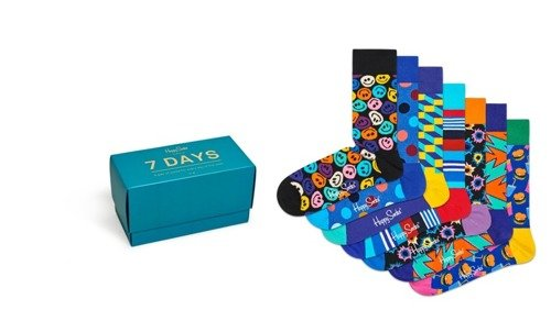 Happy Socks 7 Days Gift Box - XSNI08-0100