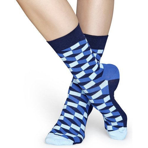 Happy Socks Filled Optic Chaussettes - FIO01-6000