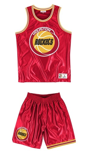 Mitchell & Ness Houston Rockets Dazzle Tank Top - MSTKDF18015-HROSCAR1