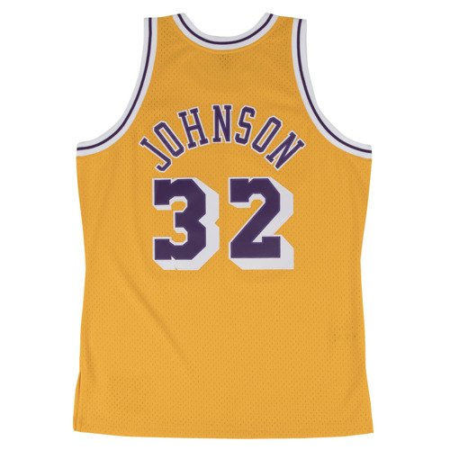 Mitchell & Ness Magic Johnson 1984-85 NBA Hardwood Classics Swingman Los Angeles Lakers Jersey