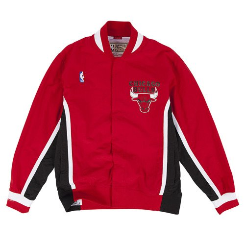 Mitchell & Ness NBA Chicago Bulls Team History Warm Up Jacket