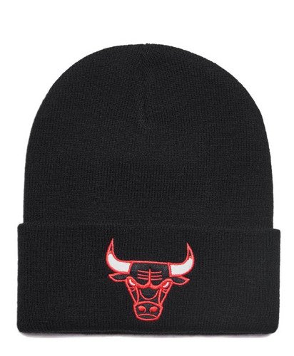 Mitchell & Ness NBA Chicago Bulls Team Logo Cuff Knit - EU785-CHIBUL