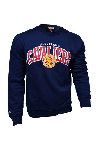Mitchell & Ness NBA Cleveland Cavaliers Team Arch Crewneck