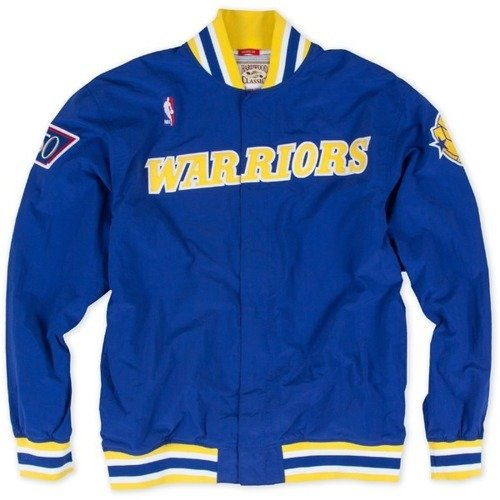 Mitchell & Ness NBA Golden State Warriors Team History Warm Up Jacket