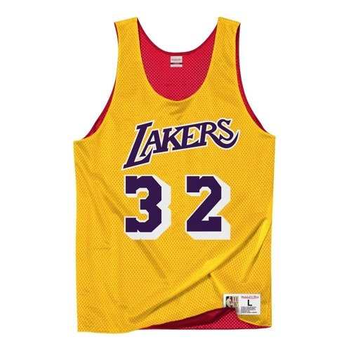 Mitchell & Ness NBA Los Angeles Lakers/All Star 1991 Magic Johnson Reversible Mesh Tank