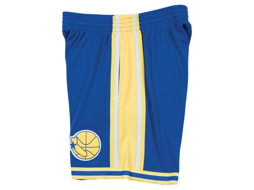 Mitchell & Ness NBA Swingman Golden State Warriors Short de basket